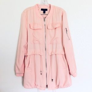 Forever 21 Light Weight Pink Jacket Size Large